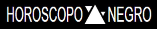 HORÓSCOPO NEGRO Logo